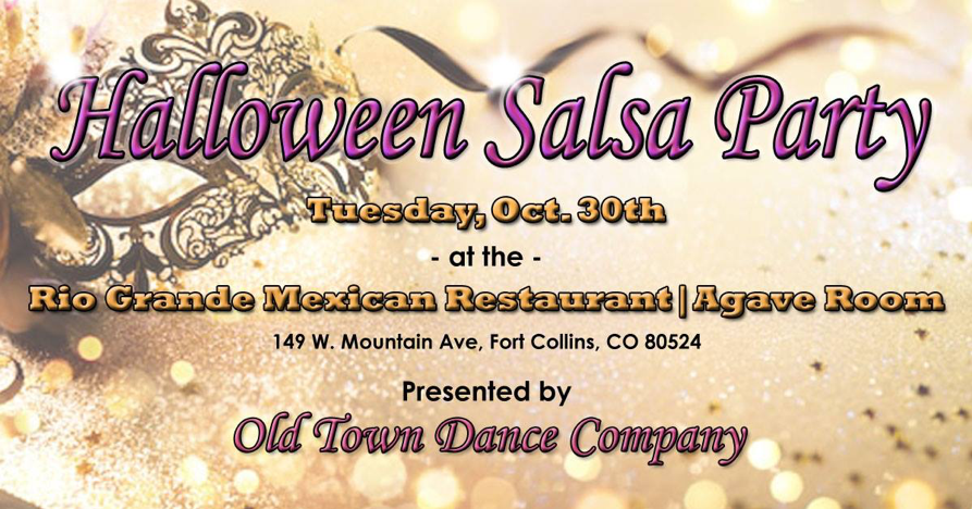 Halloween Salsa Party