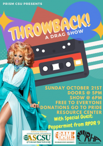Throwback A Drag Show