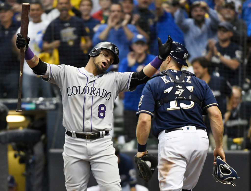 Colorado Rockies vs Milwaukee Brewers game two