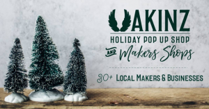 Holiday Pop up shop at Makers Market