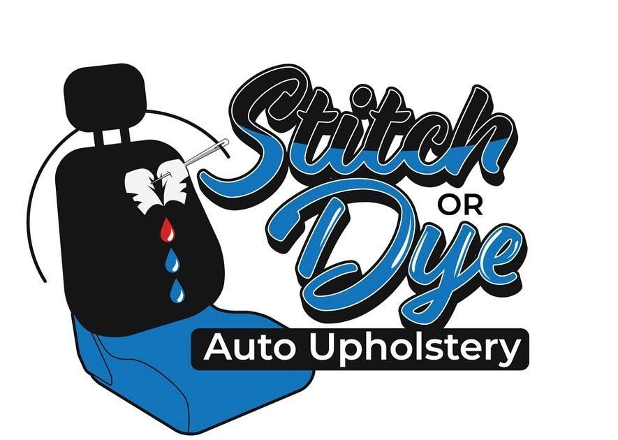 stitch or dye